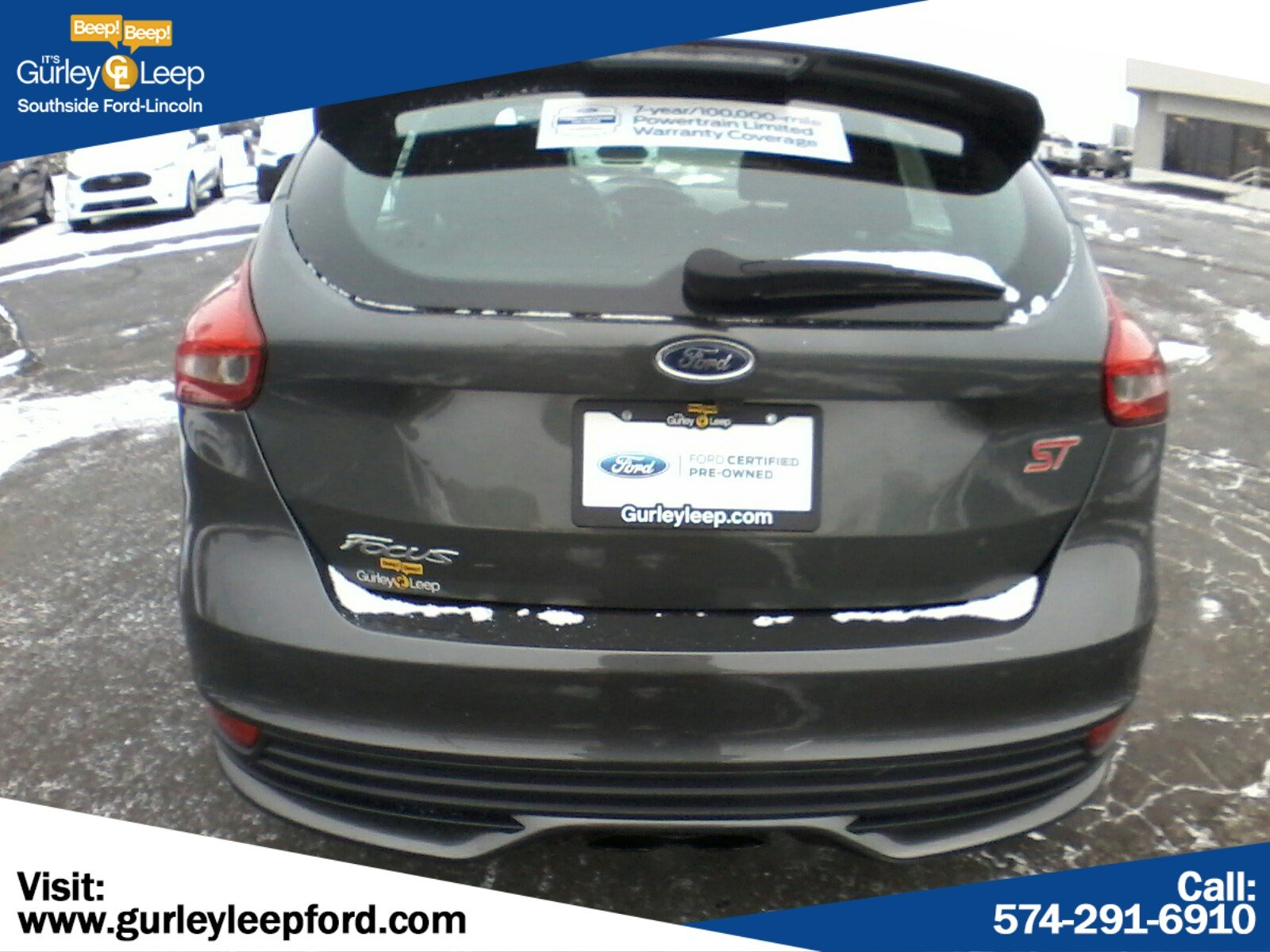 Certified Pre-Owned 2017 Ford Focus ST