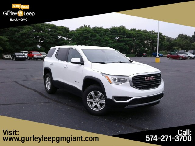 New 2019 GMC Acadia SLE FWD