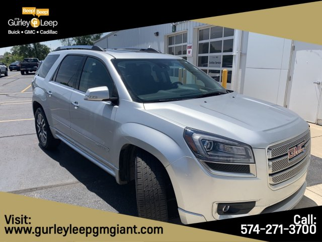 Pre-Owned 2014 GMC Acadia Denali With Navigation & AWD