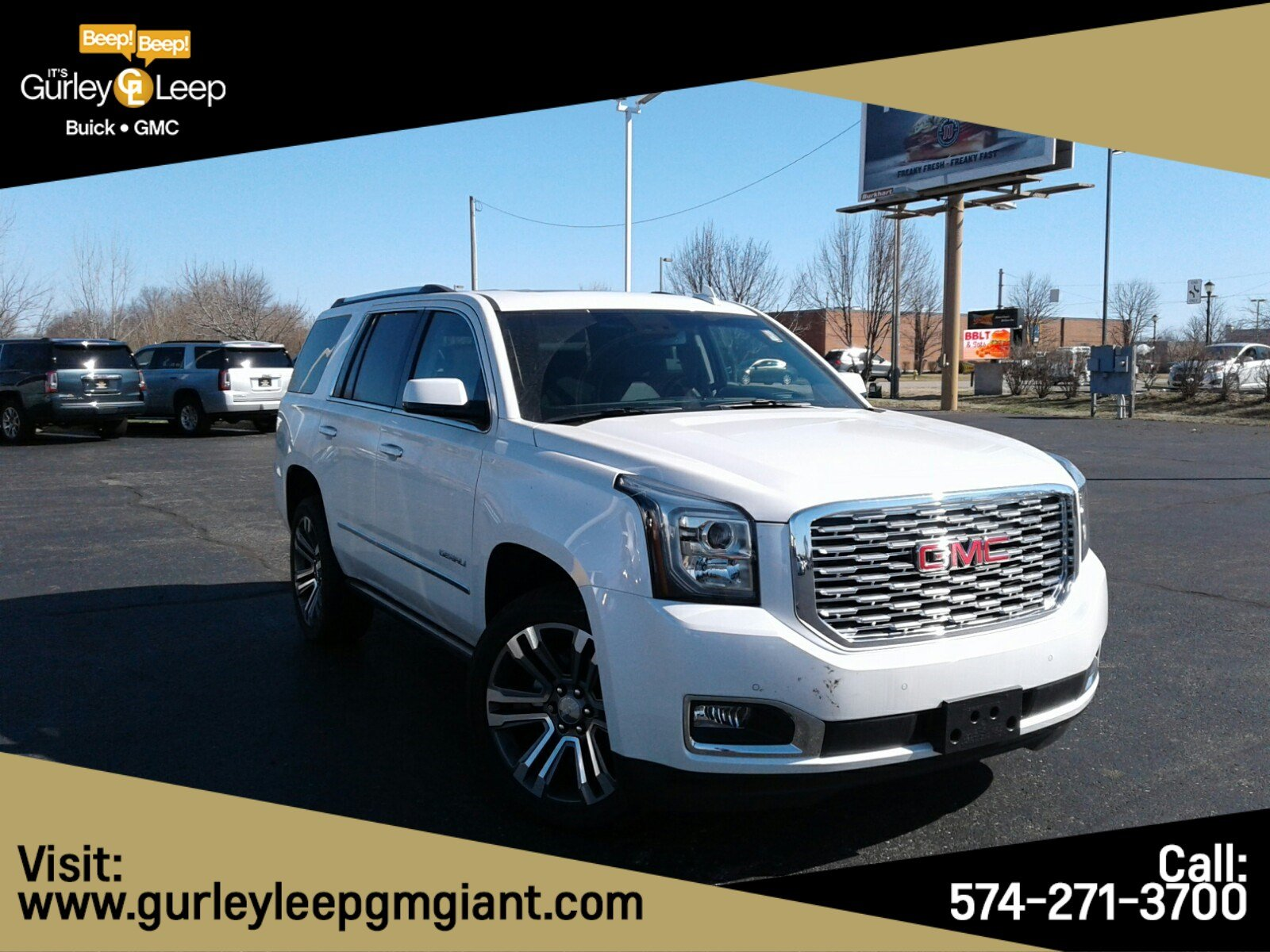 New 2019 GMC Yukon Denali With Navigation & 4WD