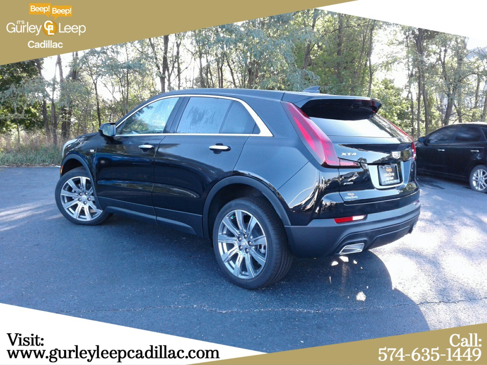 New 2020 Cadillac XT4 AWD Luxury