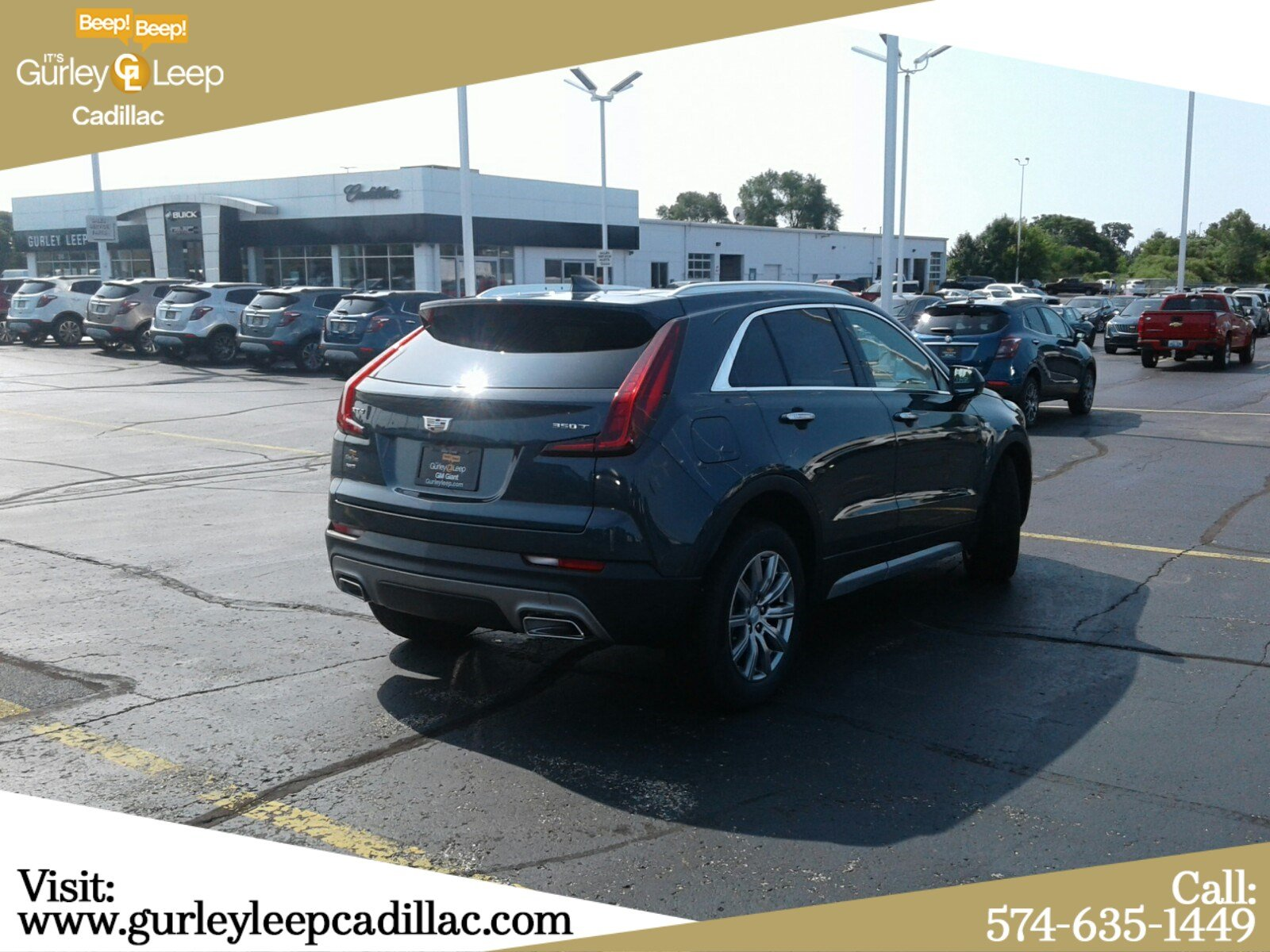 New 2020 Cadillac XT4 AWD Premium Luxury