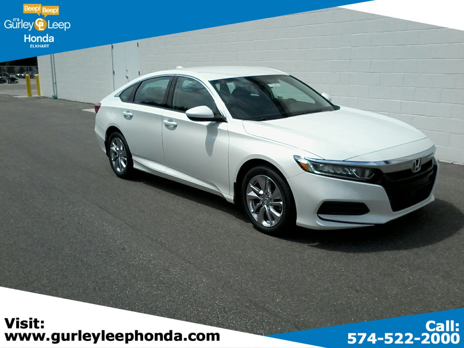 New 2019 Honda Accord LX 1.5T FWD