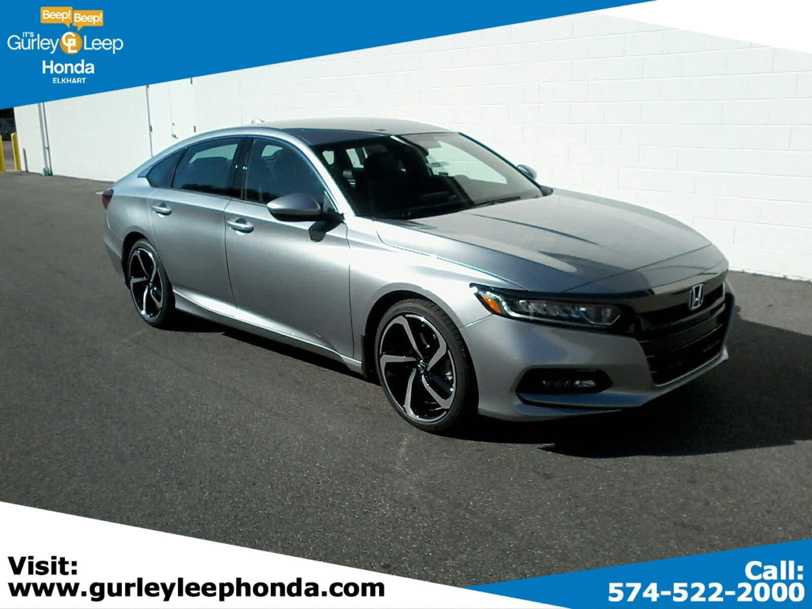 2019 Honda Accord Sedan Sport 1.5T FWD