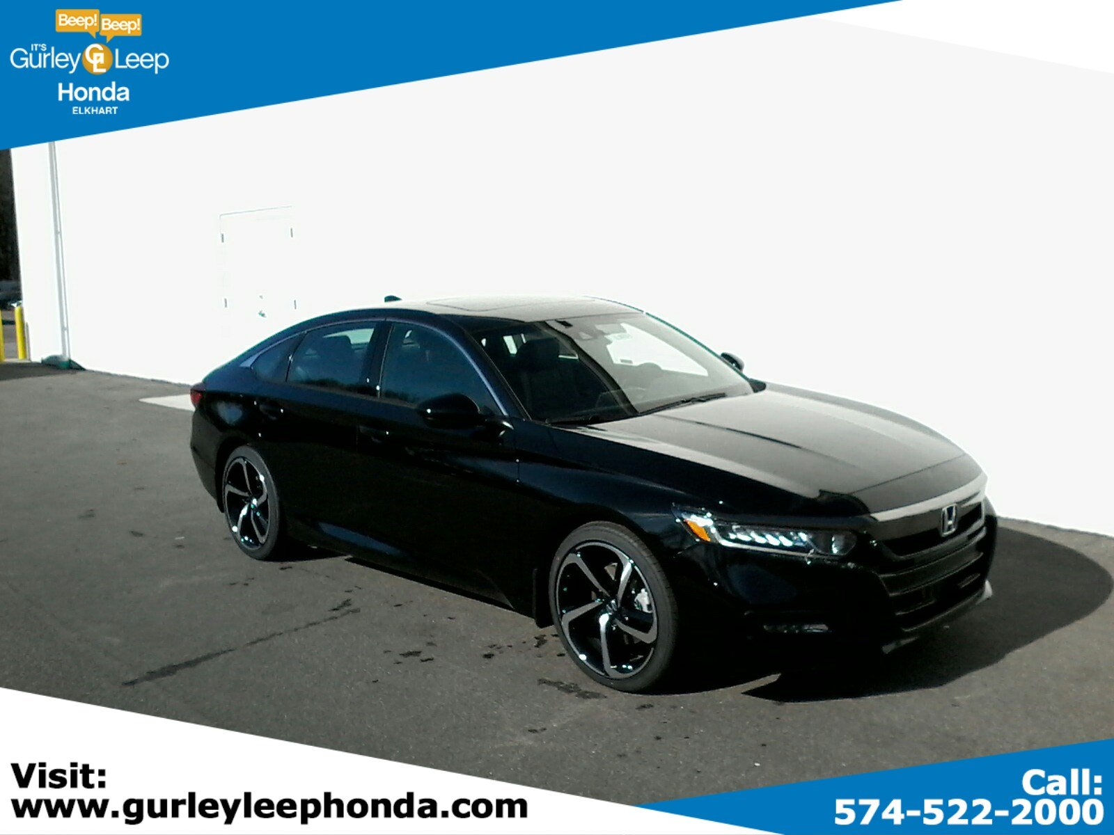 New 2019 Honda Accord Sedan Sport 2 0t