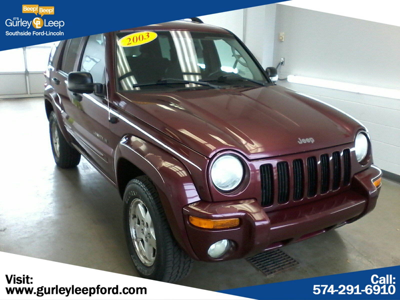 Pre-Owned 2003 Jeep Liberty Limited
