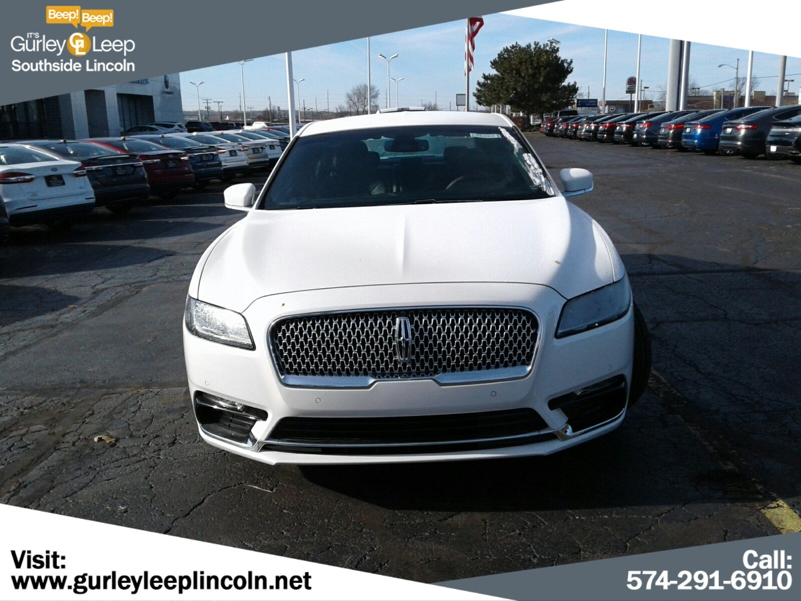 New 2019 Lincoln Continental Standard