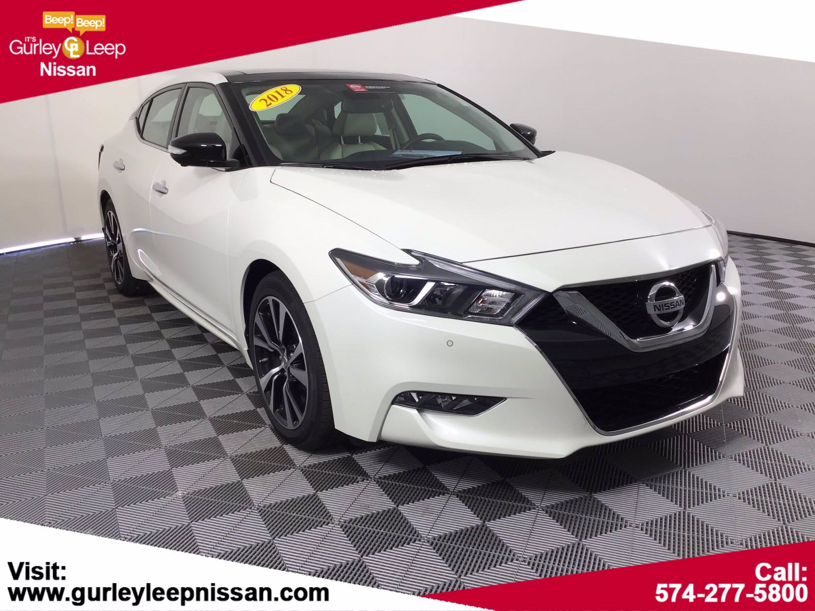 Certified Pre-Owned 2018 Nissan Maxima Platinum