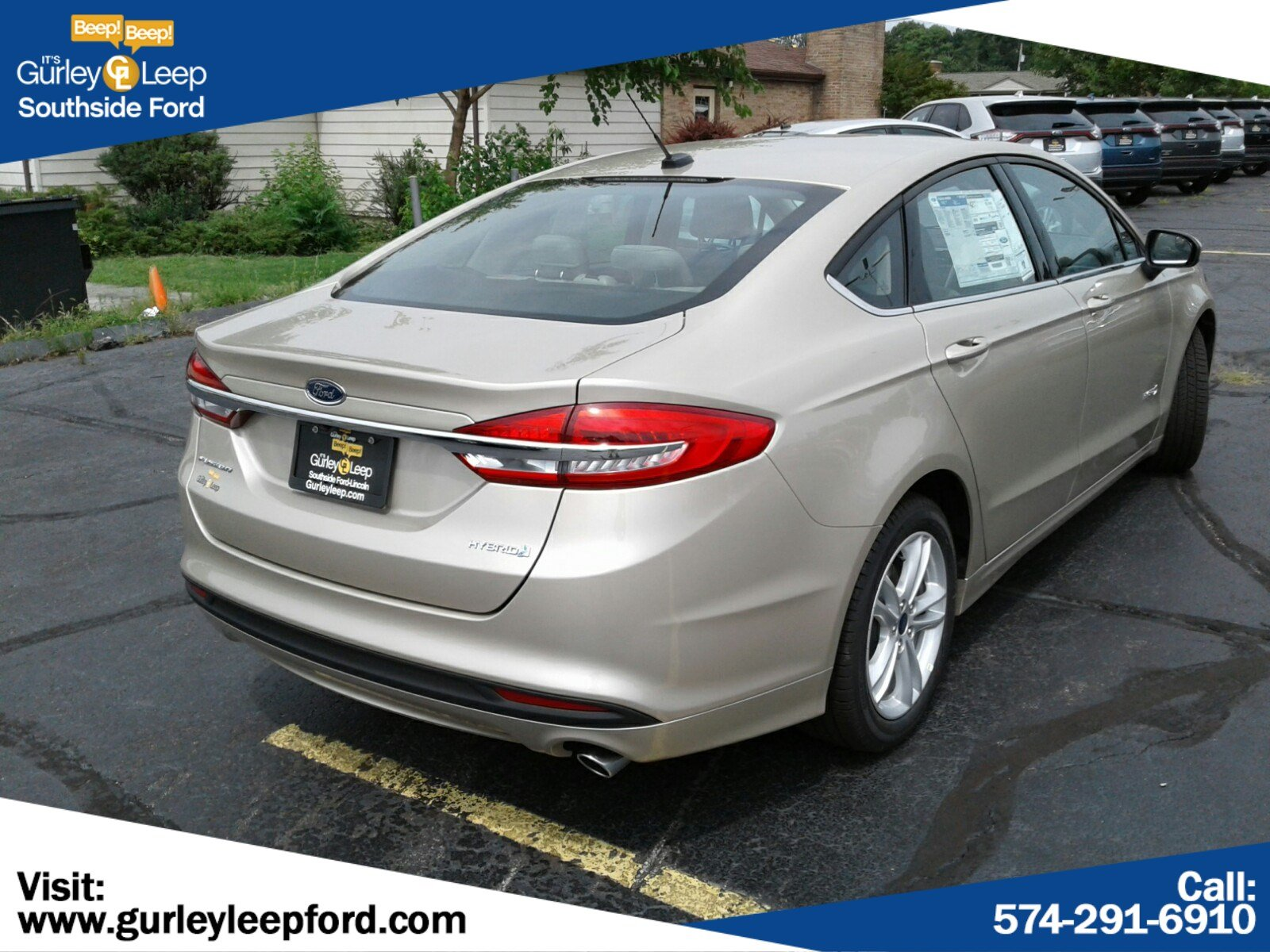 New 2018 Ford Fusion Hybrid S