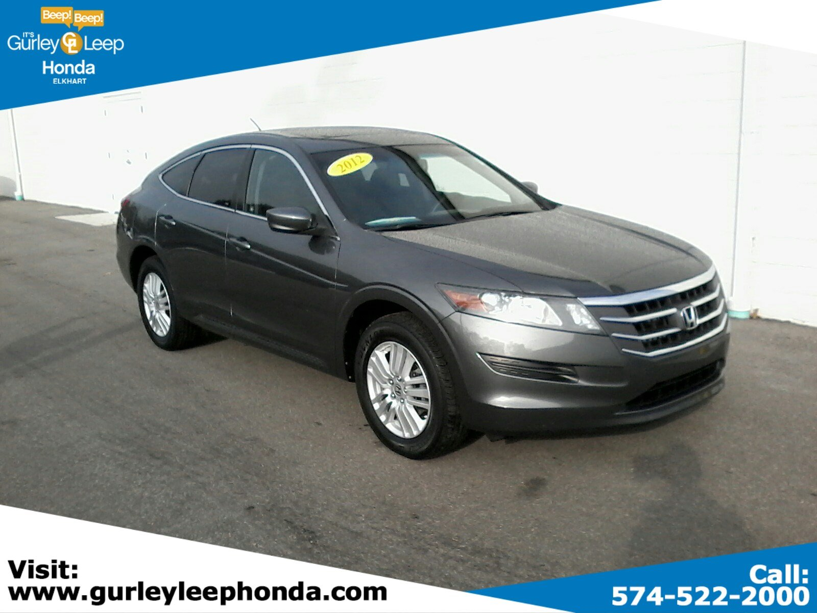 Used Honda Crosstour >> Used 2012 Honda Crosstour Ex Fwd Hatchback