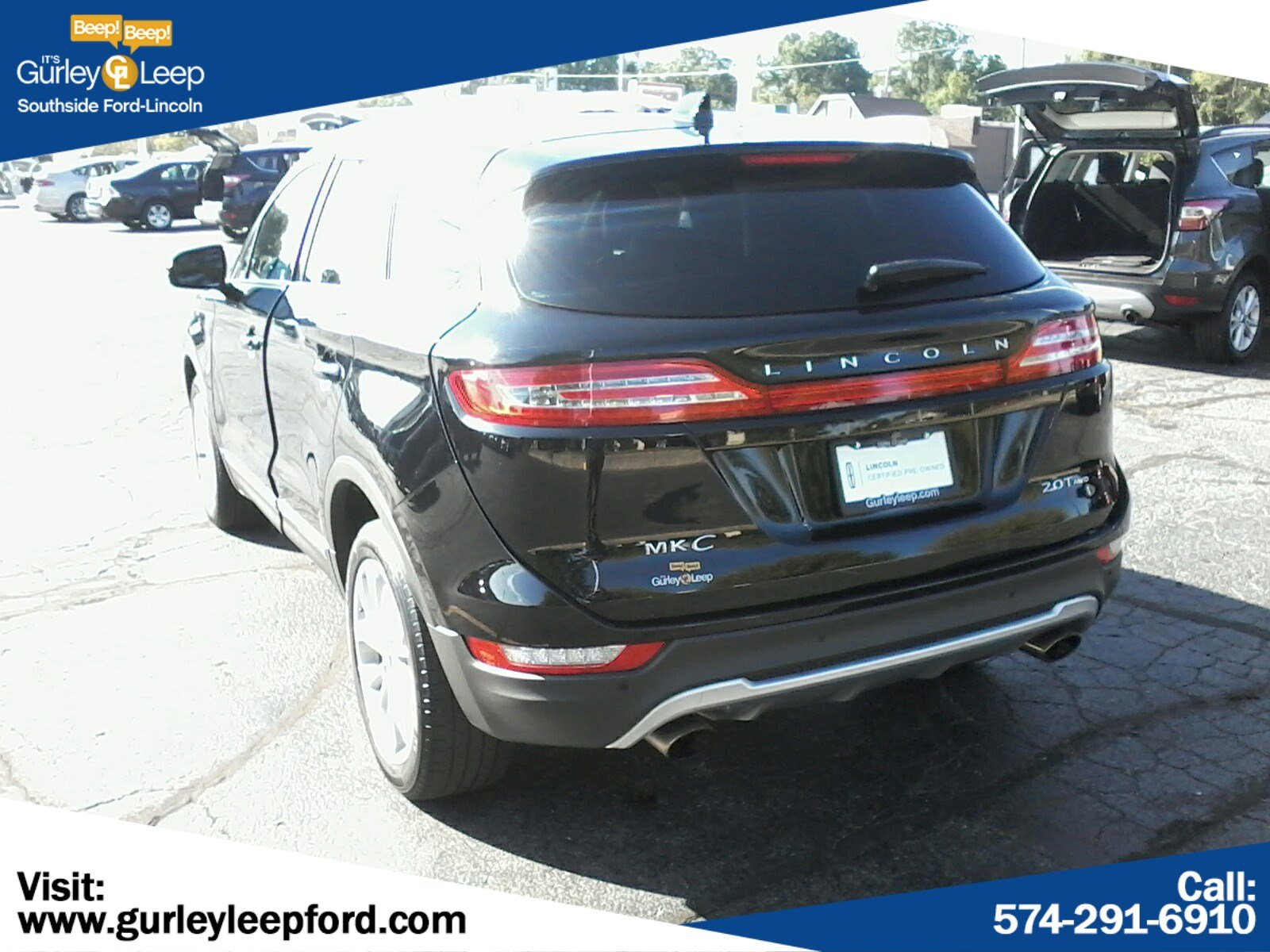 Certified Pre-Owned 2017 Lincoln MKC Select
