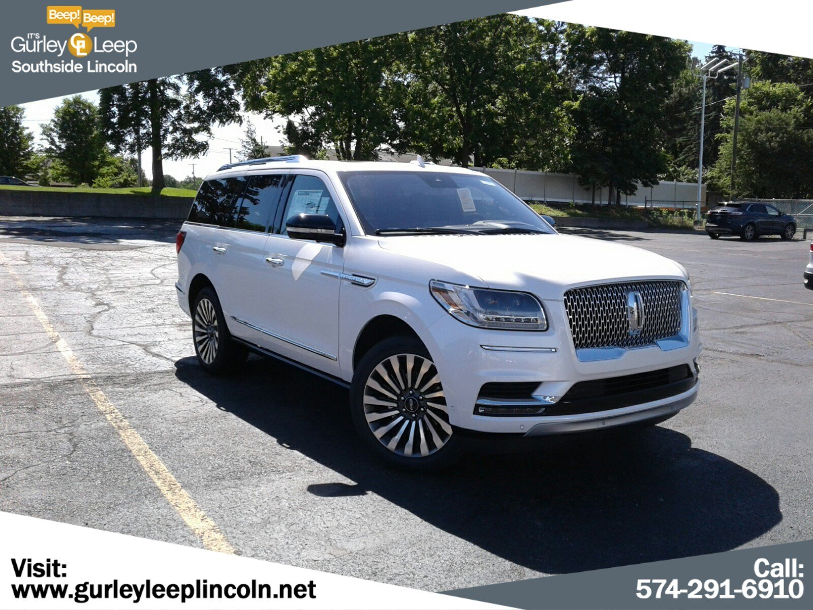 New 2019 Lincoln Navigator Reserve With Navigation 4wd