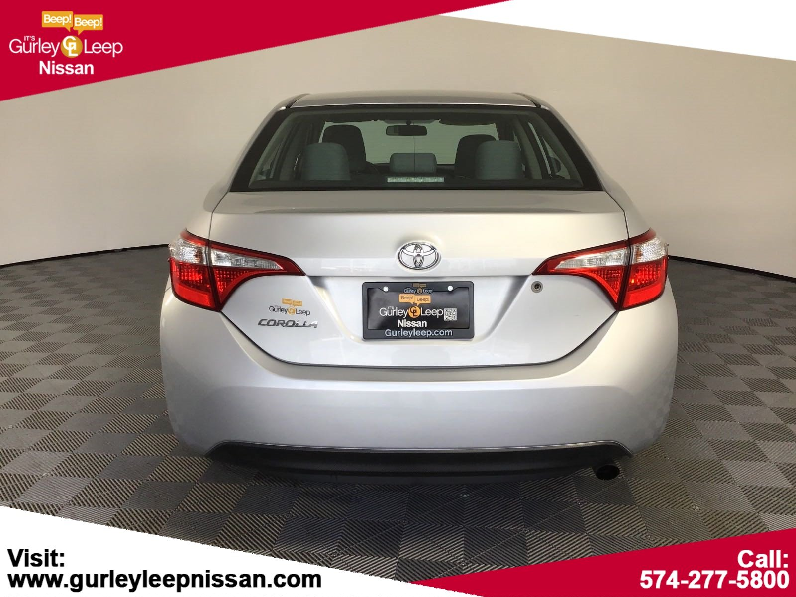 Pre-Owned 2014 Toyota Corolla LE