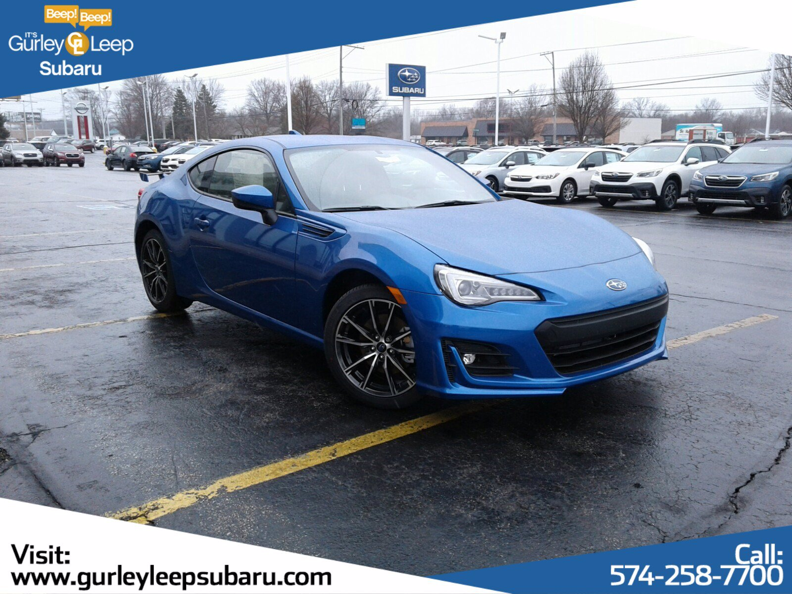 New 2020 Subaru BRZ Limited