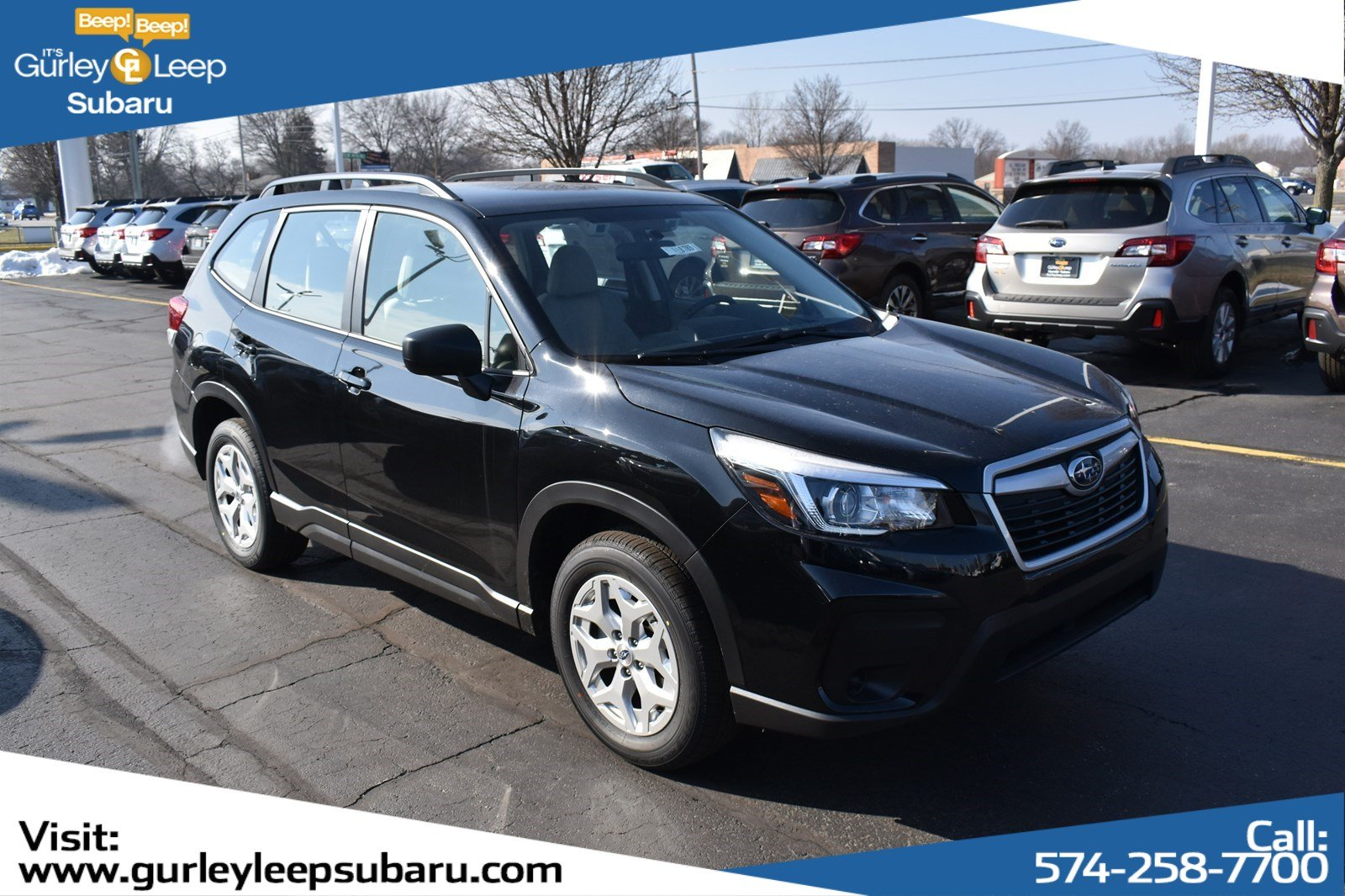 New 2019 Subaru Forester Base