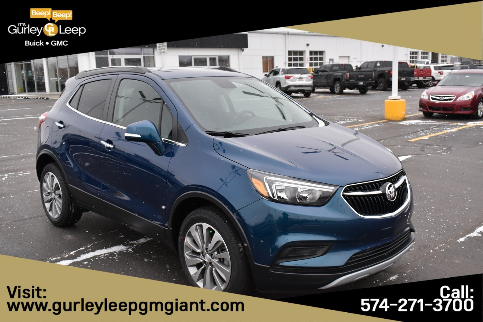 New 2019 Buick Encore Preferred Sport Utility 996797 Gurley Leep