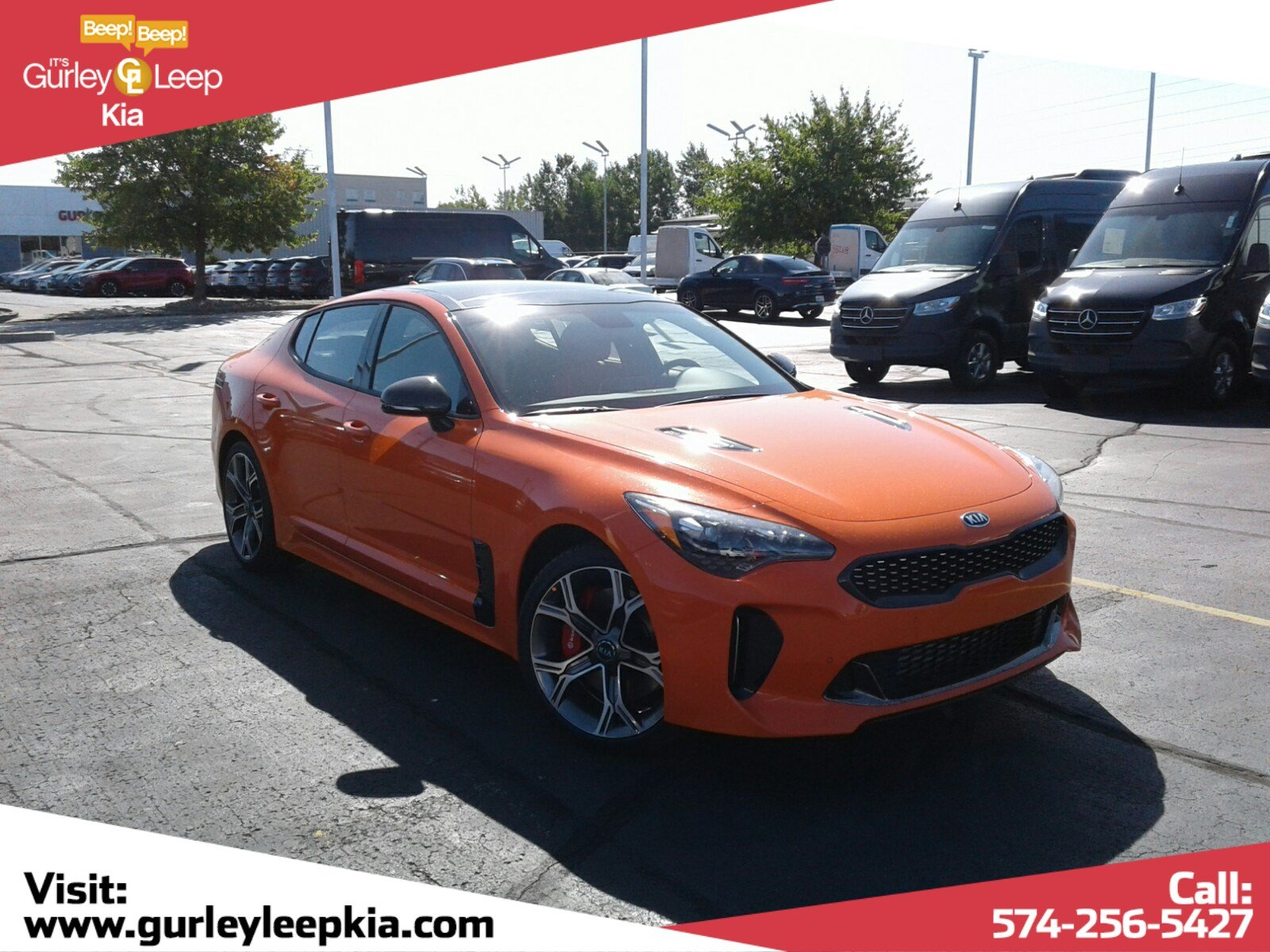 New 2019 Kia Stinger GTS