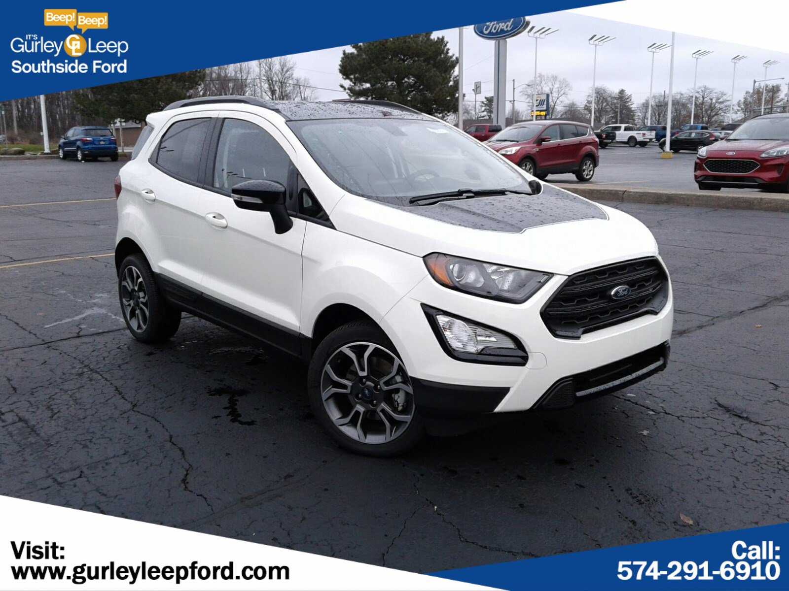 New 2020 Ford EcoSport SES