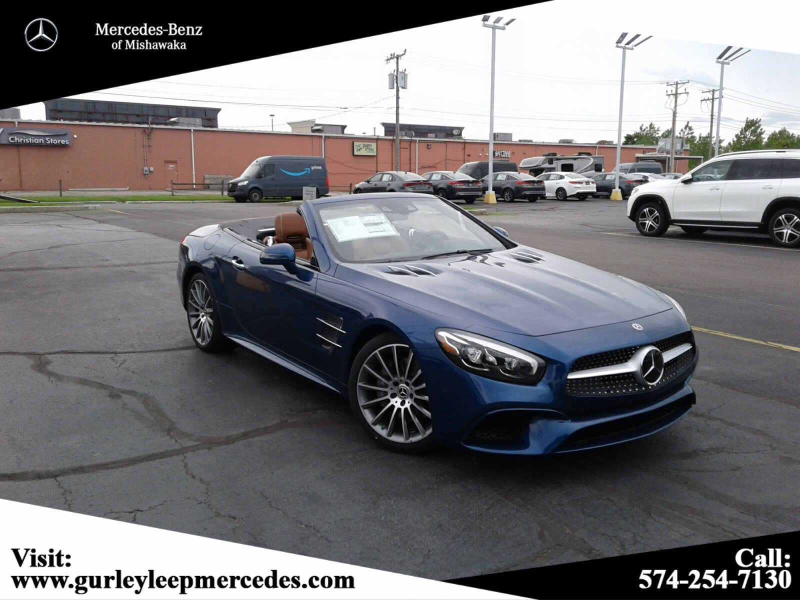 New 2020 Mercedes-Benz SL SL 550