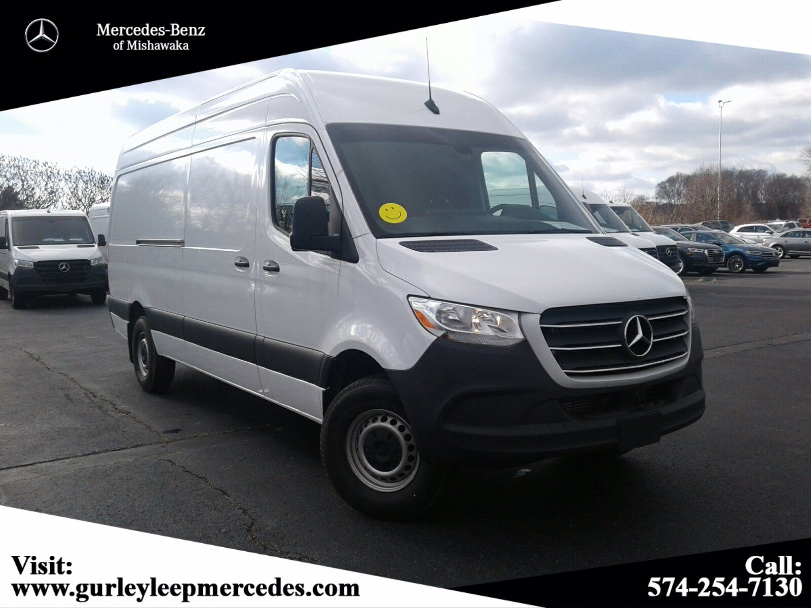 New 2019 Mercedes-Benz Sprinter Cargo Van Cargo 170 WB