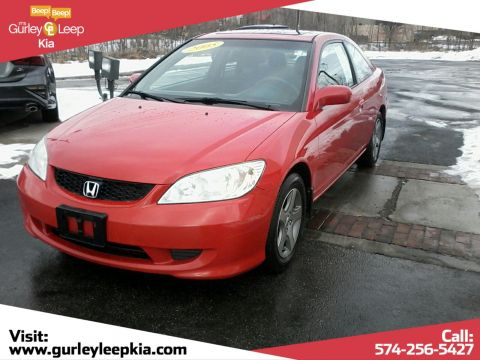 Pre-Owned 2005 Honda Civic Cpe EX